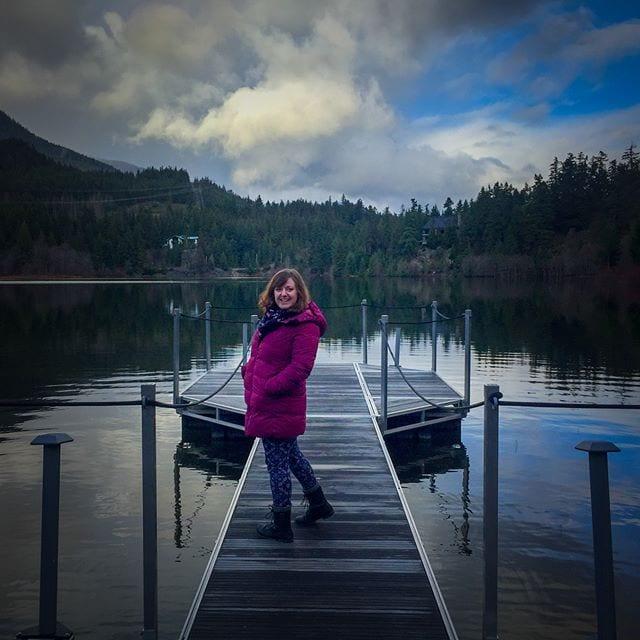 @Amber2990 at Nita Lake #NitaLake #Whistler