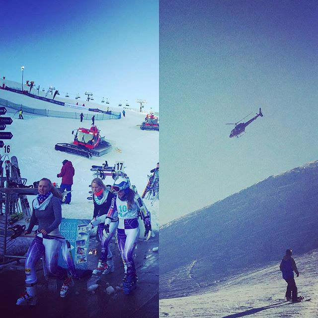 Awesome opening day at the @WinterGamesNZ. Great to see people at the top of their game and locals competing in the #Skiing slalom and getting to roam @coronetpeak at the same time. Looking forward to hitting @cardronaparksnz later in the week to watch some of the #Snowboarding action! And join in from the sidelines of course ;) #Queenstown #WinterGamesNZ