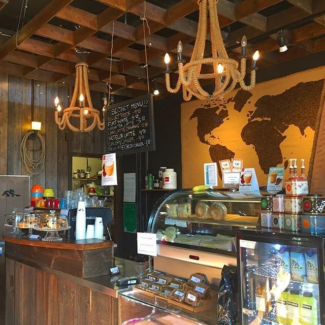 Cinnamon Latte @ The Coffee Bar Inc.