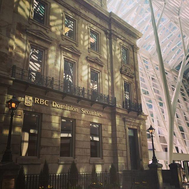 Contemporary vs Classic Architecture, RBC Toronto