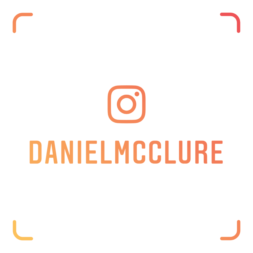 @DanielMcClure | Instagram Nametag