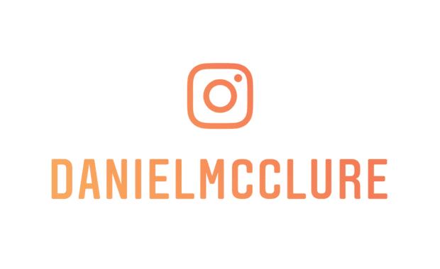@DanielMcClure | Instagram Nametag