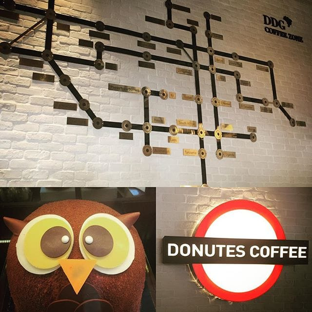 Donutes Coffee Shop opposite Wenxin Forest Park, Taichung