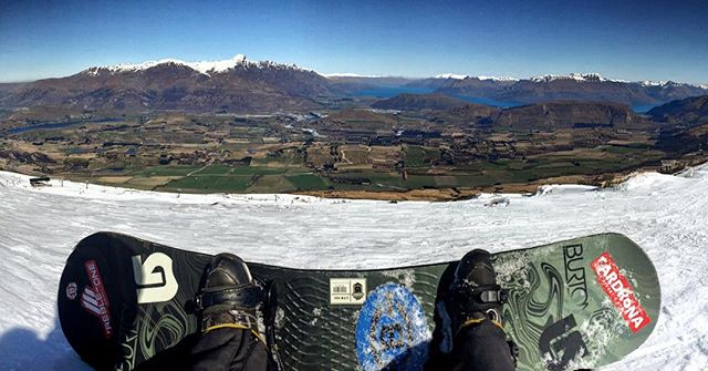 #GoPro #Spring #Snowboarding at #CoronetPeak. Carving up the last couple weeks of an awesome #Winter season in #Queenstown.