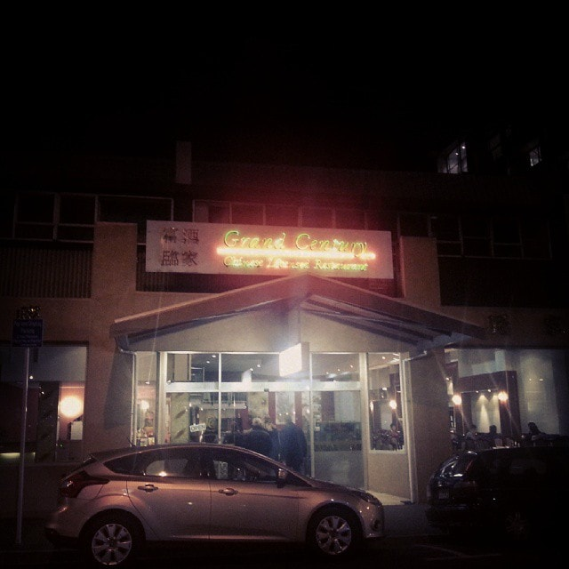 "Grand Century #Wellington – Putting the ""lice"" in licensed restaurant. #Neon #Lights #Malfunction #Fail"