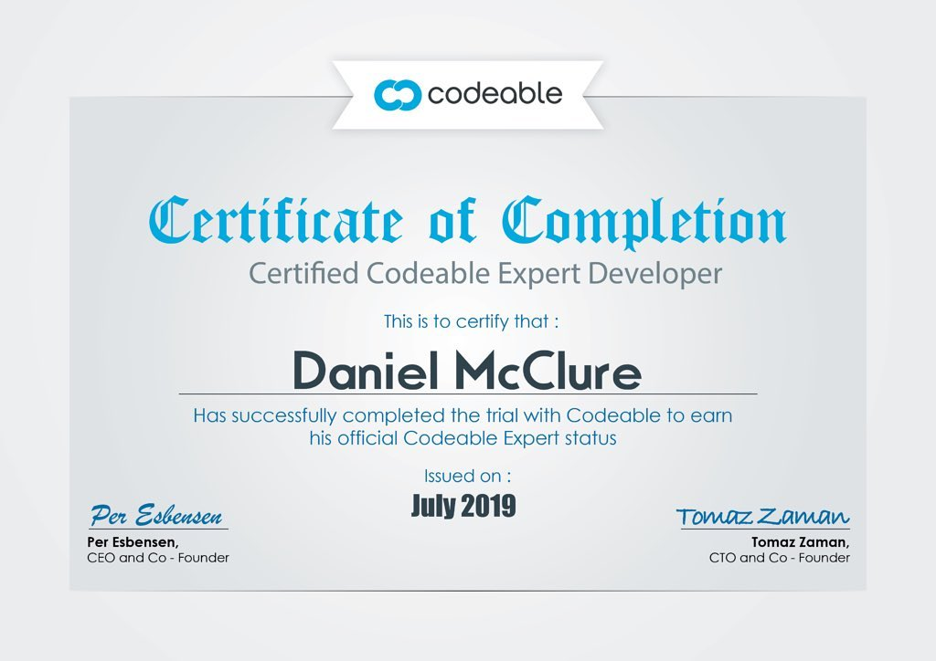 I'm now Certified WordPress Expert on the Codeable platform