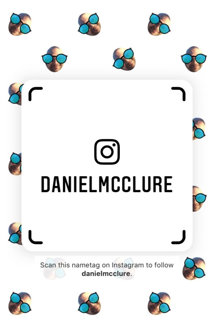 Selfie Background Instagram Nametag