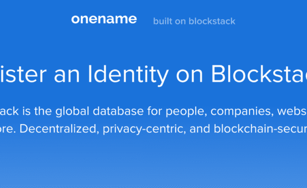 OneName by Blockstack Labs