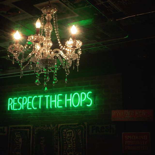 """""""Respect The Hops"""", Flying Monkey Craft Brewery"""