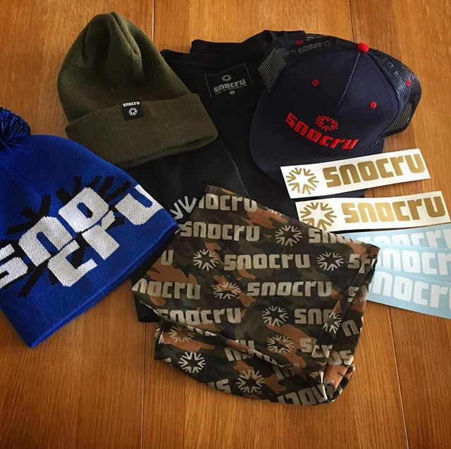 #Swag from @snocru / @twsnow for most tracked vertical #Snowboarding in February. Cheers!