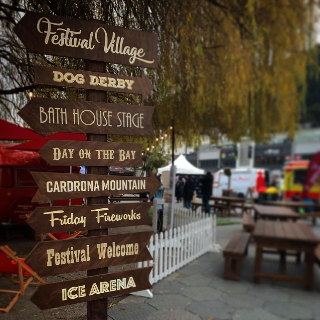 Winter Village warming up for Queenstown Winter Fest
