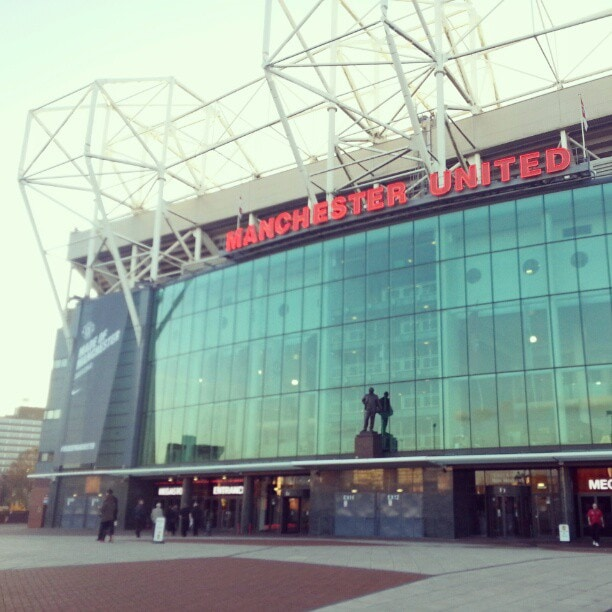 Wrong bus. I definitely don't live here! #Manchester #MUFC